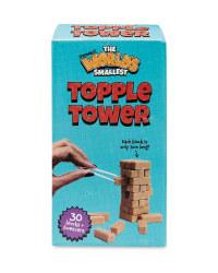 World's Smallest Topple Tower
