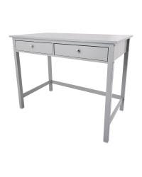 Grey Dressing Table Desk