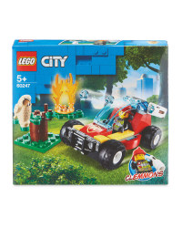 Forest Fire Buggy Lego Set