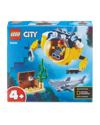 Ocean Mini-Submarine Lego Set