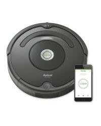 Black iRobot Roomba Vacuum