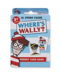 Where's Wally Memory Game