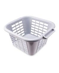 Addis Grey Laundry Basket