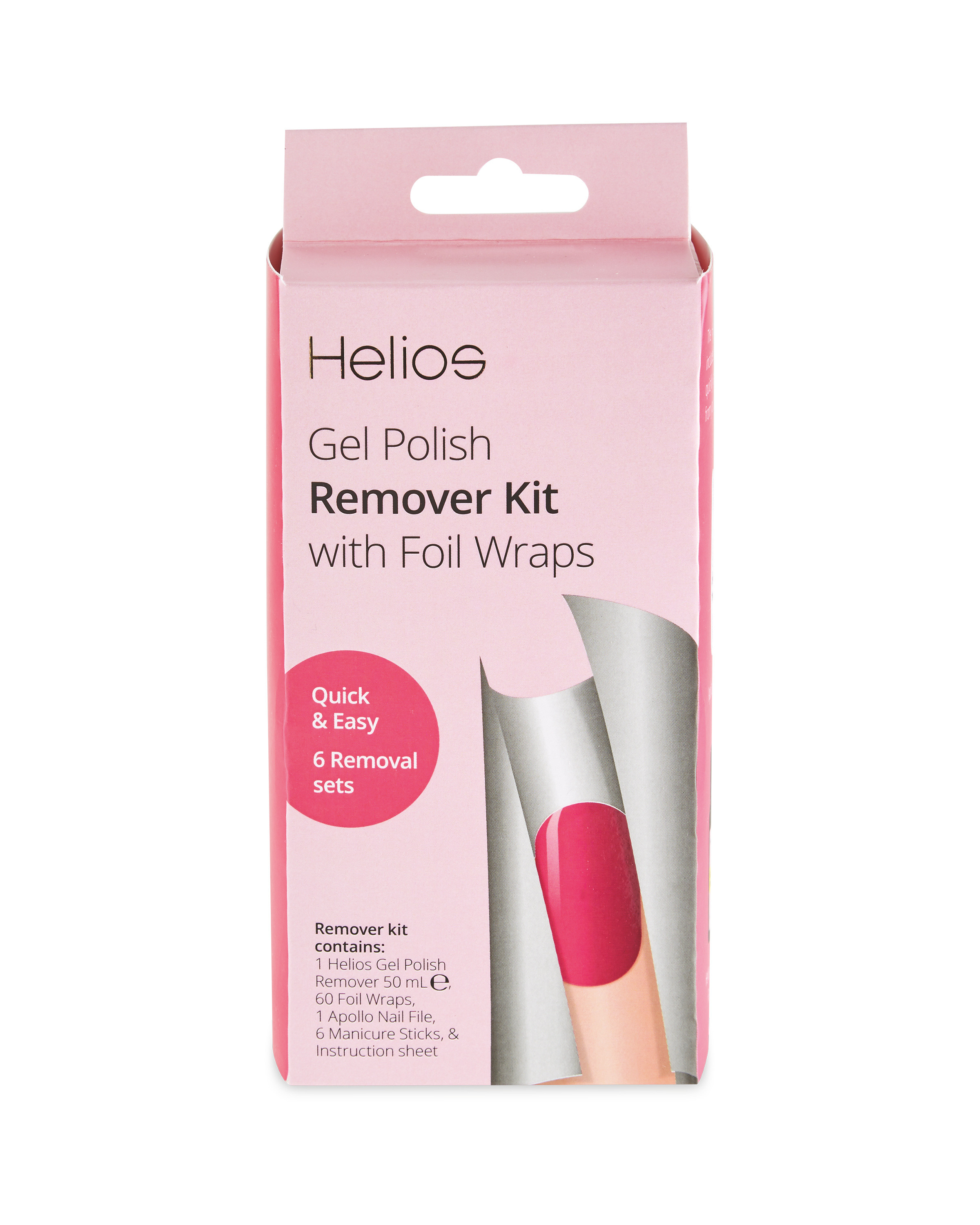 Helios Gel Nail Remover Kit