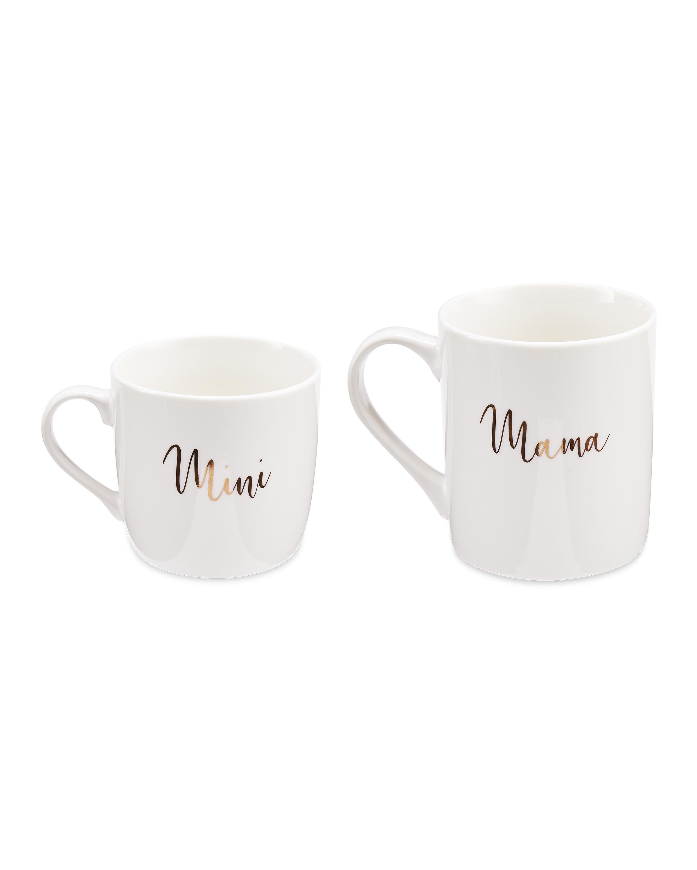 Mama Mini Mugs 2 Pack