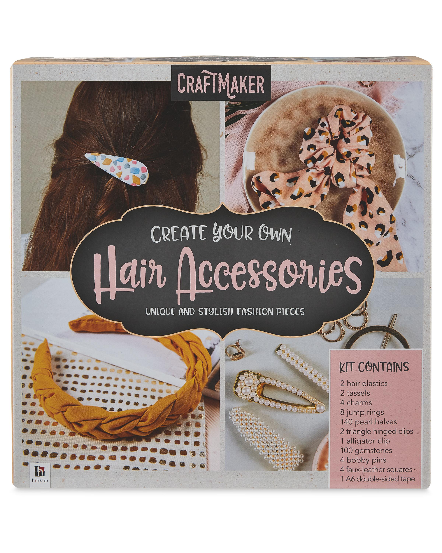 Hinkler Hair Accessories Craft Kit