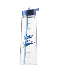 Now Or Never Hydration Bottle