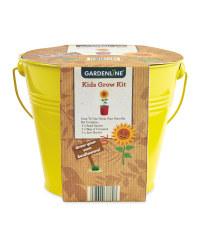 Sunflower Kids' Bucket Grow Kit
