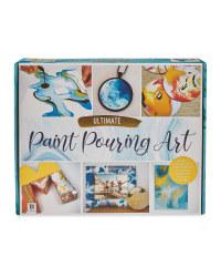 Hinkler Blue Paint Pouring Kit