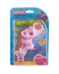 Fingerlings Pink Elephant Nina