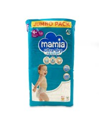 Mamia Nappies Size4+ 78 Pack
