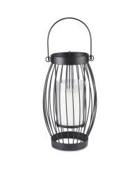 Black Citronella Candle Lantern