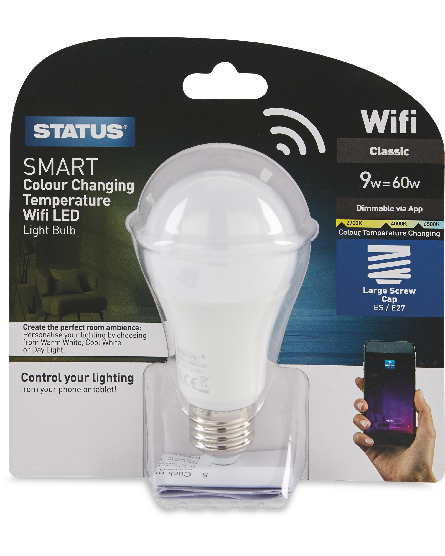 Smart Wifi LED E27 Edison Light Bulb
