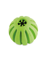 Large Green Crunch Ball Dog Toy