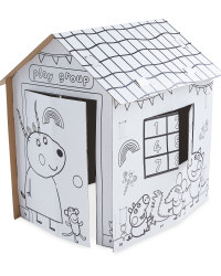 Peppa Pig Colour In Playhouse