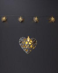 Novelty Solar String Hearts Lights