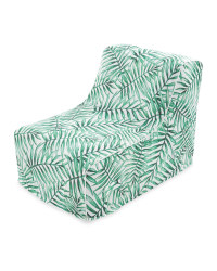 Inflatable Green Leaf Lounger Chair