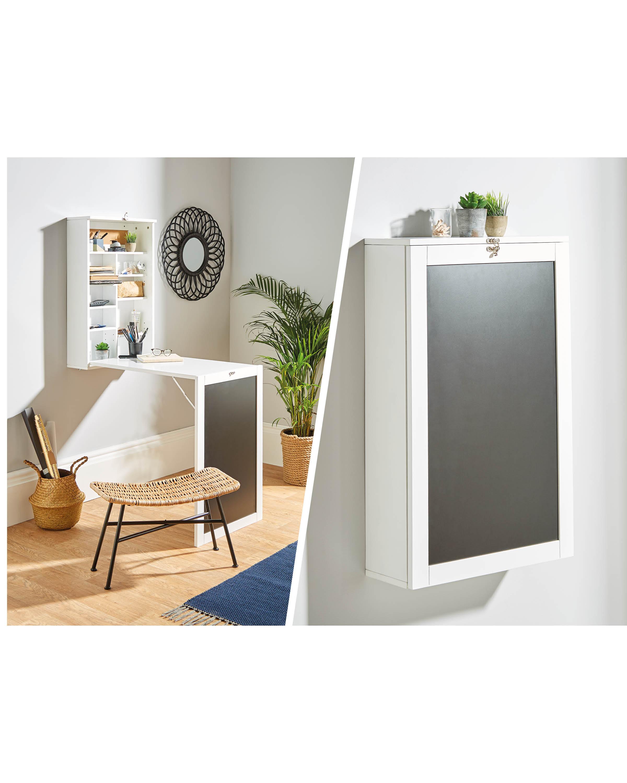 Compact Living Desk Solution
