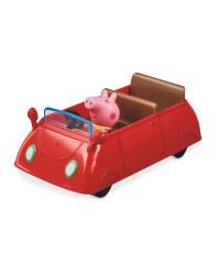 Peppa Pig Red Car Toy