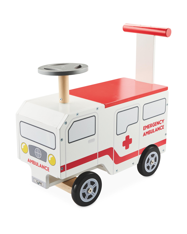 Little Town Ride On Ambulance