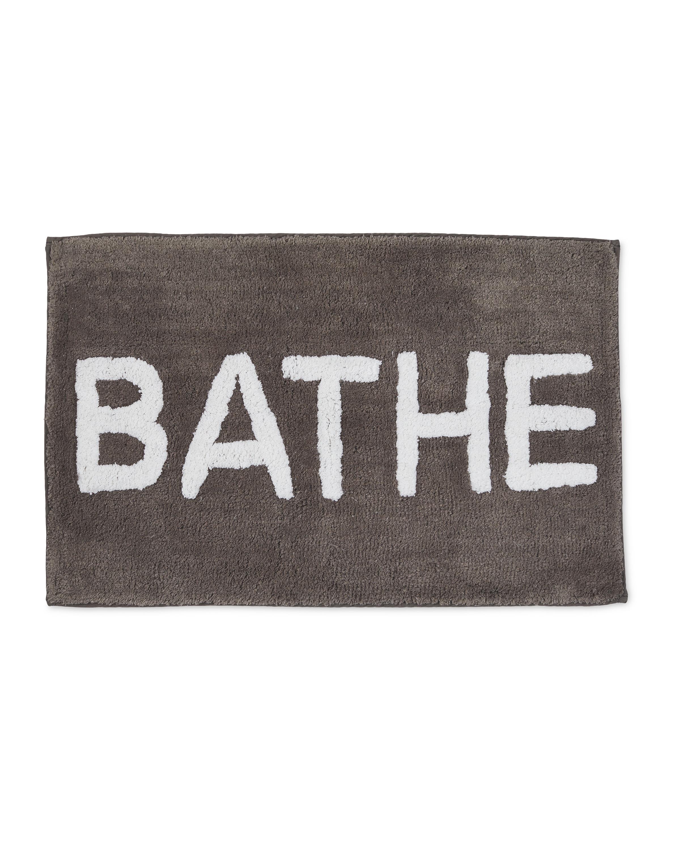 Dark Grey Bathe Bath Mat