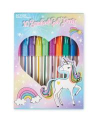 Script Scented Unicorn Gel Pens