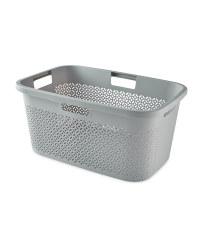 Curver Grey Laundry Basket
