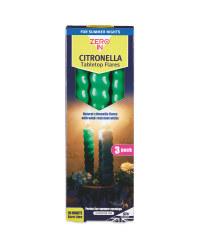 Green Citronella Garden Flares
