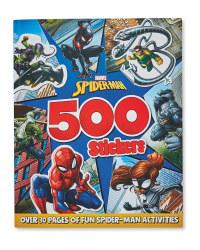 Spider-Man 500 Sticker Book