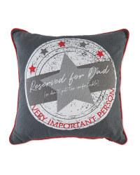 Father's Day VIP Star Cushion