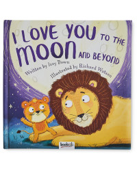 I Love You To The Moon Padded Book