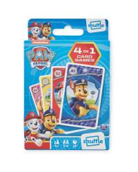 4-In-1 Paw Patrol Card Games