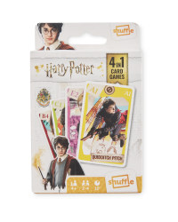 4-In-1 Harry Potter Card Games