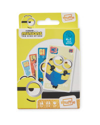 4-In-1 Minions Card Games