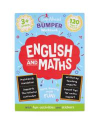 3+ English & Maths Bumper Workbook