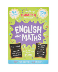 5+ English & Maths Bumper Workbook