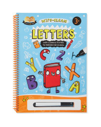 Letters Wipe Clean Book