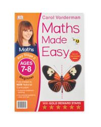 Maths Made Easy 7-8 Workbook