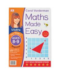Maths Made Easy 8-9 Workbook