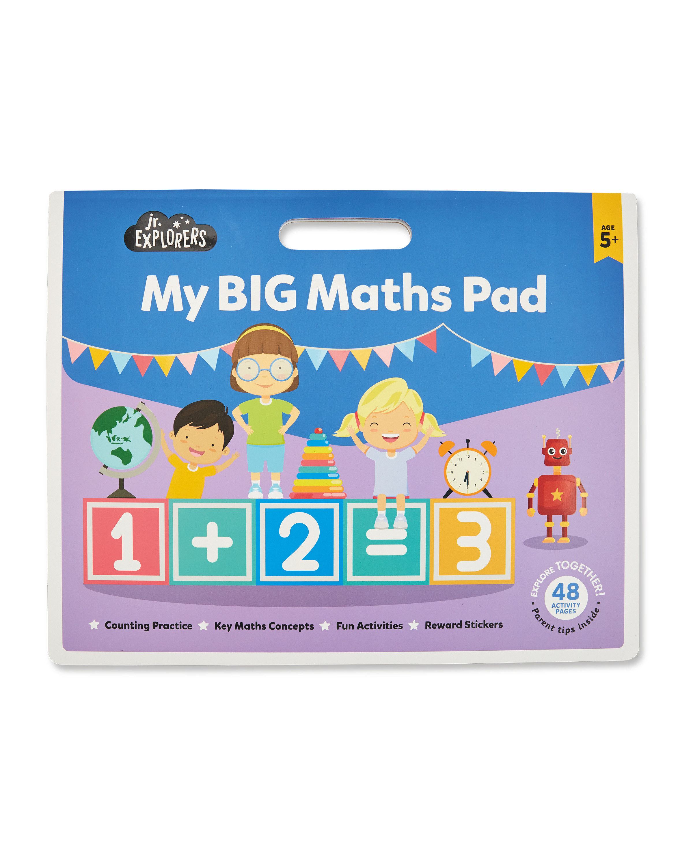 Junior Activity Maths Pad