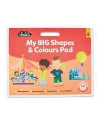 Junior Activity Colour & Shapes Pad