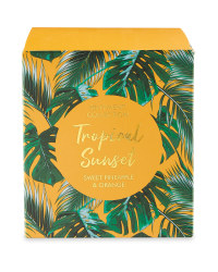 Sunset Tropical Candle