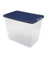 80 Litre Storage Box - Navy