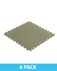 Green Solid Multi-Purpose Floor Mats
