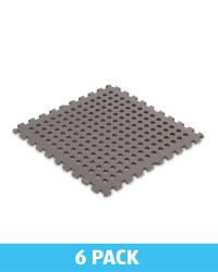 Grey Lattice Multi-Purpose Floor Mat