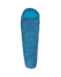 Blue Mummy Right Zip Sleeping Bag