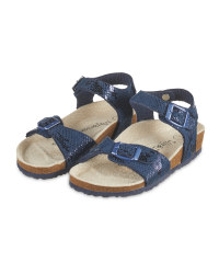 Lily & Dan Navy Children's Sandals