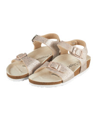 Lily & Dan Gold Kids' Sandals