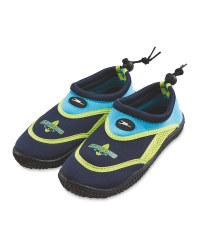 Crane Kids' Green/Blue Aqua Shoes