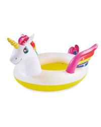 Kids' Inflatable Unicorn Spray Pool